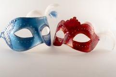 μάσκες διακοπών διασκέδασης καρναβαλιού Στοκ Εικόνες