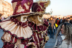Μάσκες καρναβαλιού στη Βενετία, Ιταλία Στοκ εικόνα με δικαίωμα ελεύθερης χρήσης