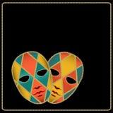 μάσκες καρναβαλιού Στοκ Φωτογραφία