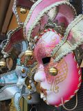 Μάσκες καρναβαλιού, Ιταλία Στοκ φωτογραφία με δικαίωμα ελεύθερης χρήσης