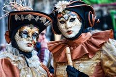 Μάσκες καρναβαλιού της Βενετίας καρναβάλι Στοκ φωτογραφία με δικαίωμα ελεύθερης χρήσης