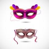 Μάσκες κόμματος Απεικόνιση αποθεμάτων