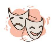 Μάσκες οπερών Στοκ Φωτογραφία
