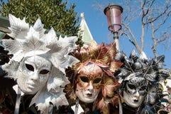 Μάσκες της Βενετίας καρναβάλι για την πώληση στοκ φωτογραφίες με δικαίωμα ελεύθερης χρήσης