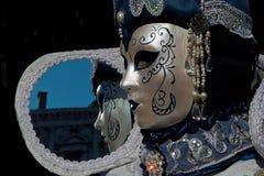 Μάσκες της Βενετίας καρναβάλι Στοκ Εικόνες