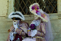 Μάσκες της Βενετίας καρναβάλι Στοκ φωτογραφίες με δικαίωμα ελεύθερης χρήσης