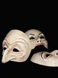 μάσκες Στοκ φωτογραφία με δικαίωμα ελεύθερης χρήσης