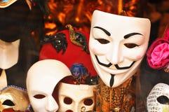 μάσκες Στοκ φωτογραφίες με δικαίωμα ελεύθερης χρήσης