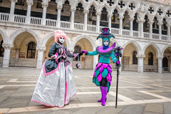 Μάσκες Carnaval Στοκ Φωτογραφίες