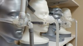 Μάσκες CPAP Στοκ εικόνες με δικαίωμα ελεύθερης χρήσης