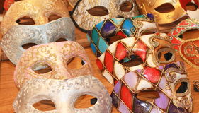 Μάσκες gras του Mario Στοκ φωτογραφία με δικαίωμα ελεύθερης χρήσης