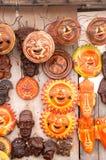 μάσκες mayan Στοκ φωτογραφία με δικαίωμα ελεύθερης χρήσης