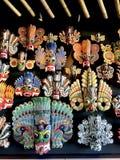 Μάσκες Raksha της Σρι Λάνκα στοκ φωτογραφίες με δικαίωμα ελεύθερης χρήσης