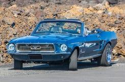1967 μάστανγκ της Ford Στοκ Εικόνες