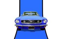 1966 μάστανγκ Fastback της Ford Στοκ Εικόνα