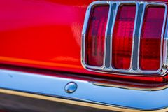 1965 μάστανγκ 2plus2 Fastback της Ford Στοκ Εικόνες