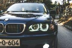 Μάτια αγγέλου της BMW στοκ εικόνες