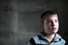 μάτια αγοριών η ελπίδα του Στοκ φωτογραφίες με δικαίωμα ελεύθερης χρήσης