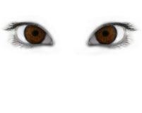 μάτια απόκρυφα Στοκ Φωτογραφίες