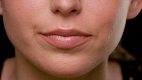 Μάτια γυναικών με σκοτεινό Makeup φιλμ μικρού μήκους