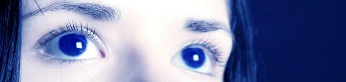 μάτια εμβλημάτων Στοκ Εικόνα