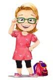 μάτια τέσσερα κορίτσι Στοκ εικόνα με δικαίωμα ελεύθερης χρήσης