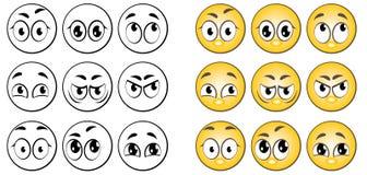 μάτια διανυσματική απεικόνιση