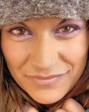 μάτια sparkly Στοκ εικόνα με δικαίωμα ελεύθερης χρήσης