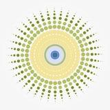 μάτι έκρηξης Στοκ φωτογραφία με δικαίωμα ελεύθερης χρήσης