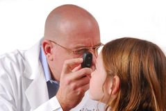 μάτι γιατρών Στοκ Φωτογραφία