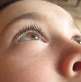 Μάτι ενός παιδιού Στοκ εικόνες με δικαίωμα ελεύθερης χρήσης