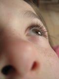 Μάτι ενός παιδιού Στοκ φωτογραφία με δικαίωμα ελεύθερης χρήσης