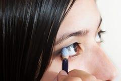 μάτι εφαρμογής Στοκ εικόνα με δικαίωμα ελεύθερης χρήσης