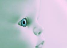 μάτι κινηματογραφήσεων σε πρώτο πλάνο μωρών στοκ φωτογραφίες