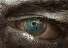 μάτι κυκλωμάτων Στοκ Εικόνα
