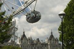 μάτι Λονδίνο καψών στοκ φωτογραφία με δικαίωμα ελεύθερης χρήσης