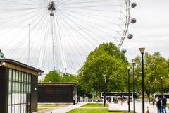 μάτι Λονδίνο Στοκ Φωτογραφία