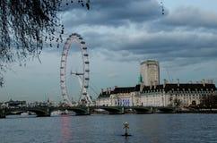 μάτι Λονδίνο Στοκ Εικόνα