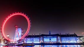μάτι Λονδίνο Στοκ φωτογραφίες με δικαίωμα ελεύθερης χρήσης
