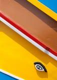 μάτι Μάλτα βαρκών Στοκ Εικόνα