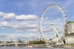 Μάτι Μεγάλη Βρετανία του Λονδίνου Στοκ Φωτογραφία
