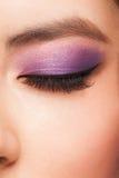 Μάτι με το makeup στοκ φωτογραφία με δικαίωμα ελεύθερης χρήσης