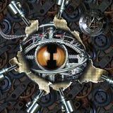 μάτι μηχανικό Στοκ εικόνα με δικαίωμα ελεύθερης χρήσης