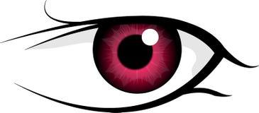 μάτι που απομονώνεται Στοκ φωτογραφίες με δικαίωμα ελεύθερης χρήσης