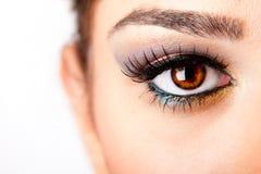 μάτι προσεκτικό Στοκ εικόνα με δικαίωμα ελεύθερης χρήσης