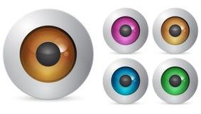 μάτι σφαιρών Στοκ Φωτογραφίες
