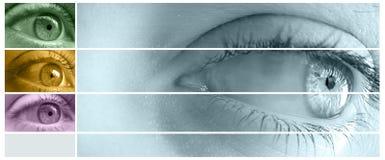 μάτι σύνθεσης διανυσματική απεικόνιση