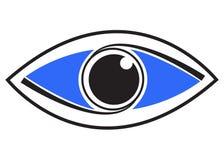 μάτι τέχνης Στοκ εικόνες με δικαίωμα ελεύθερης χρήσης