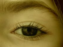 Μάτι του θεατή στοκ φωτογραφία με δικαίωμα ελεύθερης χρήσης