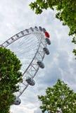 Μάτι του Λονδίνου στοκ φωτογραφίες με δικαίωμα ελεύθερης χρήσης